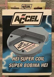 Accel 140003 Gm High Energy Hei Super Coil Red Yellow New