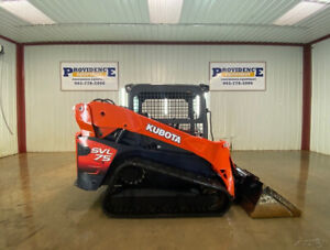 2013 Kubota Svl 75 Orops Track Skid Steer Loader With Pre Emission