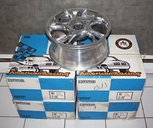 Exotic Set Of 4 Ea One piece American Racing Alloy Wheels No 127 5762