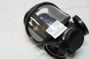 Msa m2c2 Full Face Respirator Smoke Gas Mask Size U Mask Only No Canister