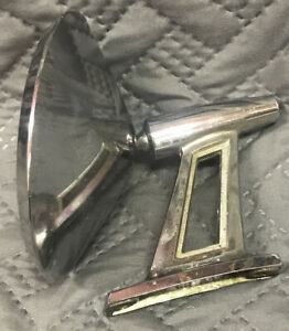 1963 64 65 66 Plymouth Dodge Twin Post Side View Mirror Beautiful Chrome Mopar
