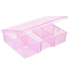 5 Grid Electronic Components Project Storage Assortment Box Bead Organizer