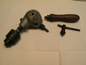 Vintage Babco Chuck Right Angle Drill Attachment 1 4 Chuck Metal Housing