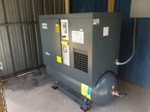 Atlas Copco G11ff 15 Hp Rotary Screw Air Compressor With Dryer