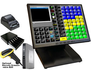 15 Point Of Sale Pos System Register Restaurant Bar Or Retail No Contract