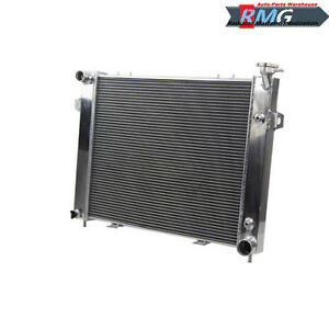 2 Row Aluminum Radiator For Jeep Grand Cherokee 5 2l 5 9l V8 1993 1998