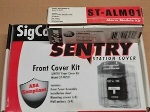 Sigcom St frc01 Sentry Front Cover Kit Fire Alarm Pull Station Cover With Alarm
