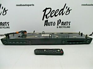 Entertainment System Rear Roof Mounted Dvd Screen 09 12 Ford Expedition W remote