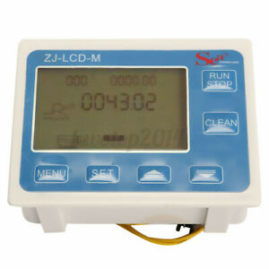1 2 Water Diesel Fuel Oil Flow Meter Lcd Display Solenoid Flow H