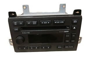 2006 Lincoln Town Car Oem 6 Cd Charger Radio