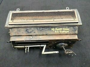Rover 2000 Tc P6 Heater Air Conditioning System Smiths Unit 1963 1970