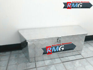 35 Long Aluminum Battery Tool Box Trailer