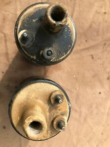 1960 S Mercury Ford Fomoco Autolite Yellow Top Ignition Coil Mustang Pair