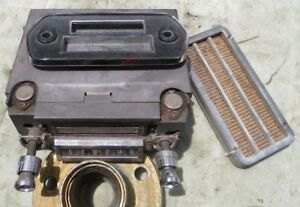 Am 8 Track Radio 1966 Ford Mustang With Original Speaker Grills Grilles Nice