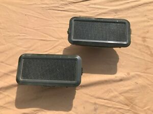 1969 1970 Mustang Fastback Fold Down Rear Speakers With Correct Grilles 4x8