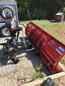 Western Pro Plus 8 Snow Plow Never Used