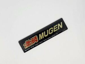 4 Inch 3d Mugen Logo Racing Badge Decal Sticker Honda Acura Civic Accord Rsx