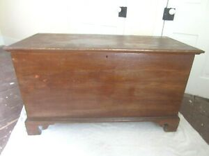 Antique Blanket Chest Trunk From Central Pa German