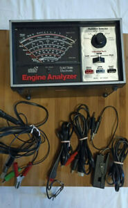 Sears Craftsman Professional Quality Engine Analyzer Vintage 28 21423 W box