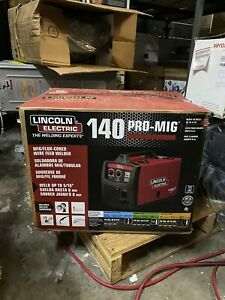 New Lincoln Electric 140 Pro Mig Flux Corded Wire Feed Welder K2480 1