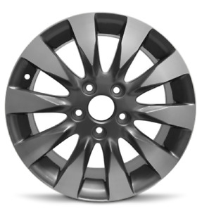 Set Of 4 Aluminum Alloy Wheel Rims 16 Inch Fits 2009 2011 Honda Civic 5 Lug
