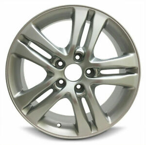 Set Of 4 New Aluminum Wheel Rims 17 Inch For 10 11 Honda Cr v 5 Lug 114 3mm