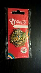 OFFICIAL LONDON 2012 COCA COLA PARALYMPIC CLOSING CEREMONY PIN BADGE BN