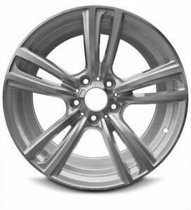 New Aluminum Wheel Rim 18 Inch 2012 2018 Bmw 320i 5 Lug 120mm 5 Double Spokes
