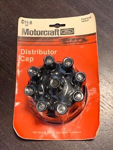 Vos Motorcraft Ford Distributor Cap V8 Dh 6 1974 57 Incl Mustang Others