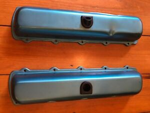 Oldsmobile Big Block Valve Covers 68 72 Oem With Baffles
