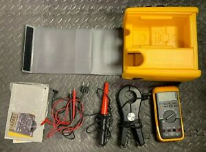 Fluke 87 Multimeter With Case And Accessories