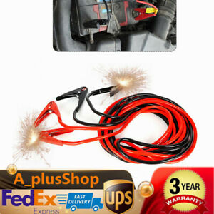 Booster Jumper Cables 2 Gauge 20ft 800a Heavy Duty Clamps Booster Cable