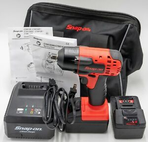 Snap On Tools Ct8810b 3 8 Drive Monsterlithium Impact Wrench good Condition