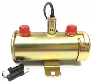 Facet Red Top Universal Electric Fuel Pump 3 8 476087e Brass Material For Sale