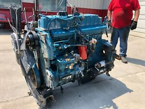 1997 International Dt466e Diesel Engine 175hp Low Miles 92k Runs Perfect