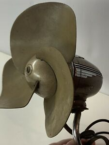 Vintage Casco Art Deco Car Steering Column Defroster Fan Ford Chevy Buick tested