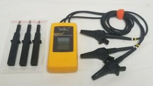 Fluke 9040 Three Phase Rotation Indicator Tester Meter W Leads Clamps 300 600v