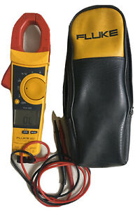 Fluke 902 True Rms Hvac Clamp Meter In Very Nice Working Condition