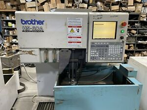 Brother Hs 50a Wire Edm Machine 2 Units Available