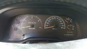 99 Dodge Pickup 2500 Cluster Speedometer Tachometer At Mph Diesel