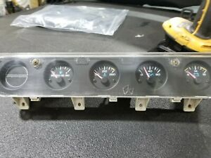 Jeep Wrangler 89 95 Yj Dash Instrument Center Gauge Cluster 56004888 Free Ship