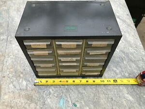 Vintage18 Drawer Metal Akro Mills Small Parts Storage Organizer Cabinet Bin