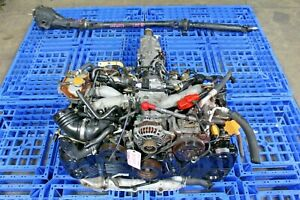 Used Jdm Turbocharged Avcs Wrx 2002 2005 Ej205 Engine Swap trans diff shaft