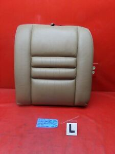 94 98 Mustang Gt Tan Brown Beige Leather Rear Back Seat Upper Cushion Left Lh L