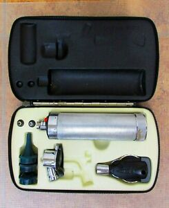 Welch Allyn Diagnostic Set Pneumatic Otoscope Ophthalmoscope 71000 115 20200
