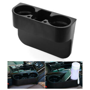 Universal Car Seat Seam Wedge Cup Holder Drink Coffee Auto Truck Bottle Mount