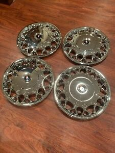 1997 2005 Buick Century 15 Chrome Hubcaps Wheel Covers New Replacement Set Of 4