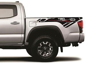 2x Side Bed Vinyl Decals Graphic 2016 2020 4 Toyota Tacoma Trd 4x4 Sport