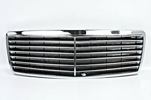 Mercedes S class W140 Sedan 1995 1998 Front Chrome Grill Central Grille