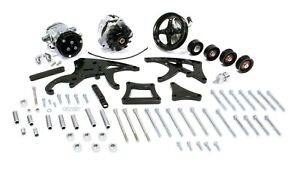 March Performance Ls Engine Sport Track Pulley System Black